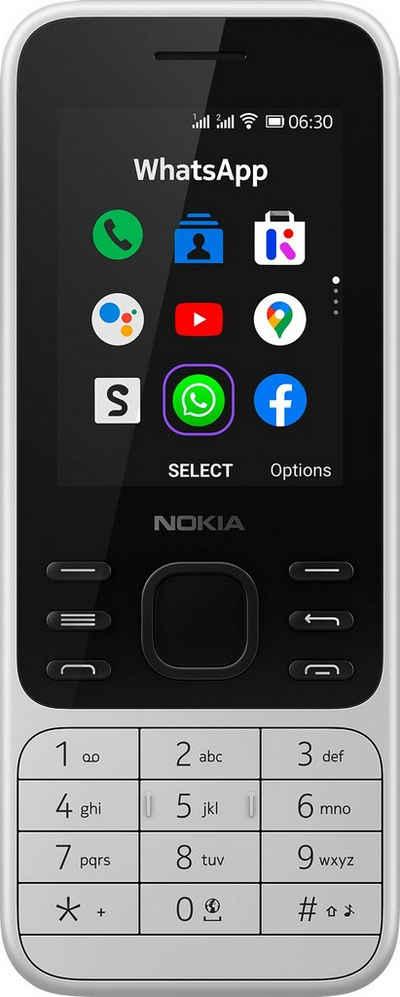 Nokia 6300 4G Leo Handy (6 cm/2,4 Zoll, 4 GB Speicherplatz)
