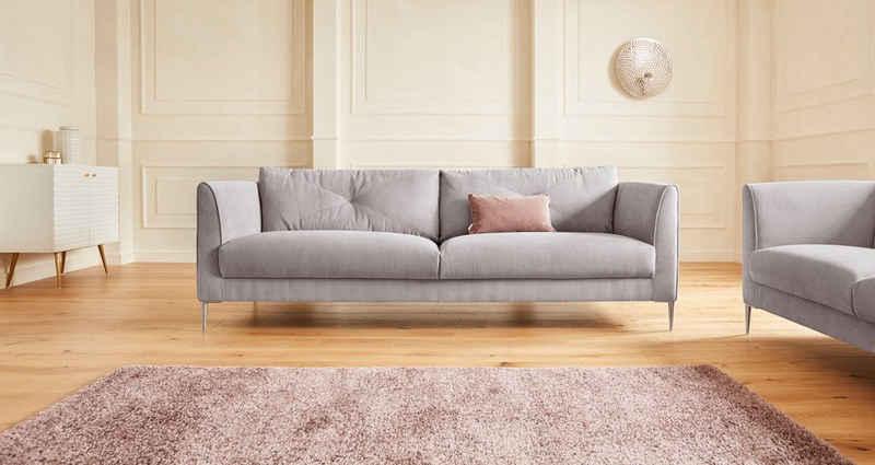 Guido Maria Kretschmer Home&Living 3-Sitzer »Chilltime«, mit eleganter Kreuznaht in den Rückenkissen