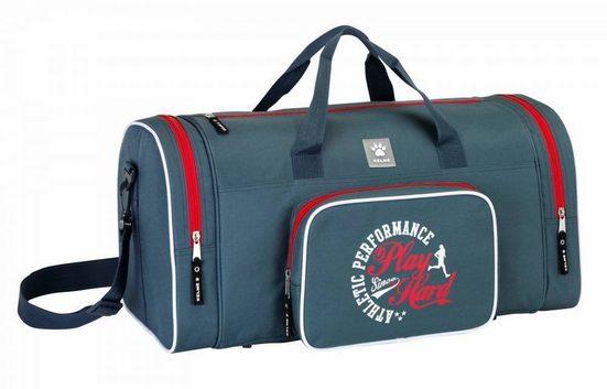 TOP! Sporttasche »Kelme - XL Sporttasche, 55x27x26 cm« (Reißverschluss, Jungen), Geringes-Gewicht