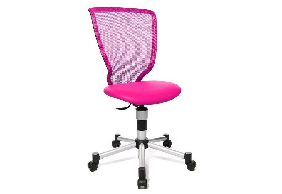 Topstar Drehstuhl »Titan Junior«, für Kinder geeignet, in 8 Farben in pink