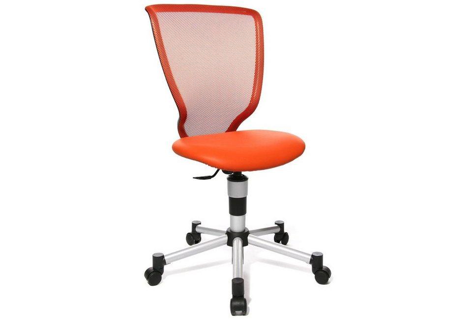Topstar Drehstuhl »Titan Junior«, für Kinder geeignet, in 8 Farben in orange