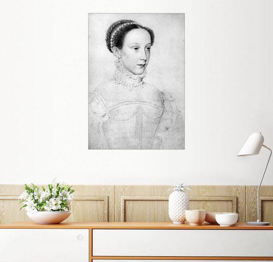 Posterlounge Wandbild - Francois Clouet »Mary Queen of Scots«