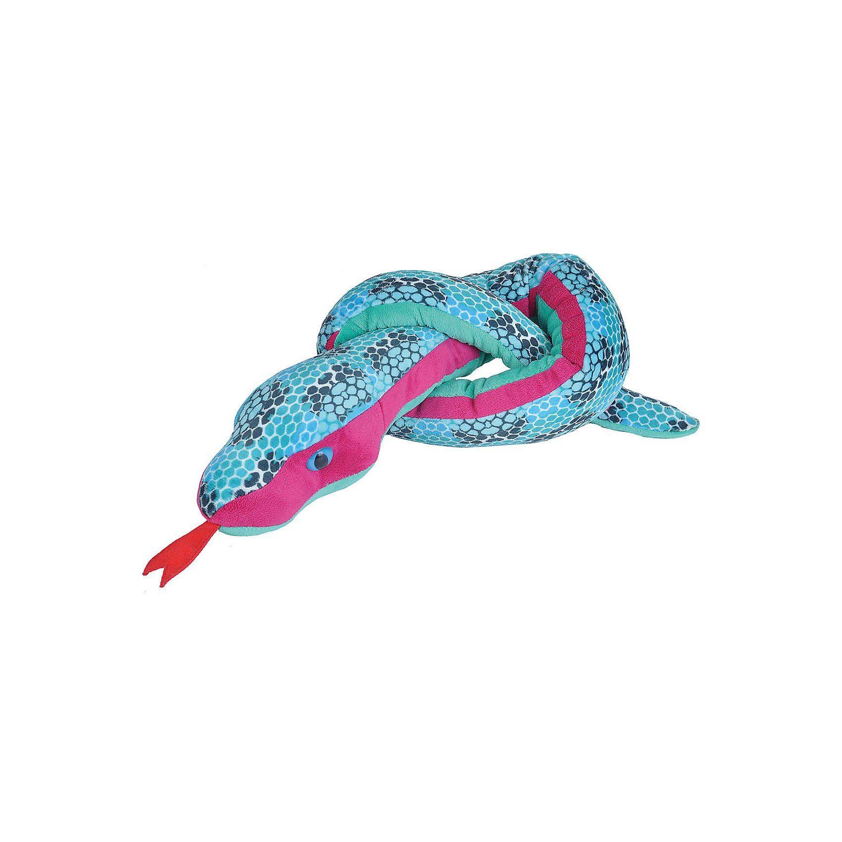 WILD REPUBLIC  Snakesss Schlange Honigwaben blau, 54 cm
