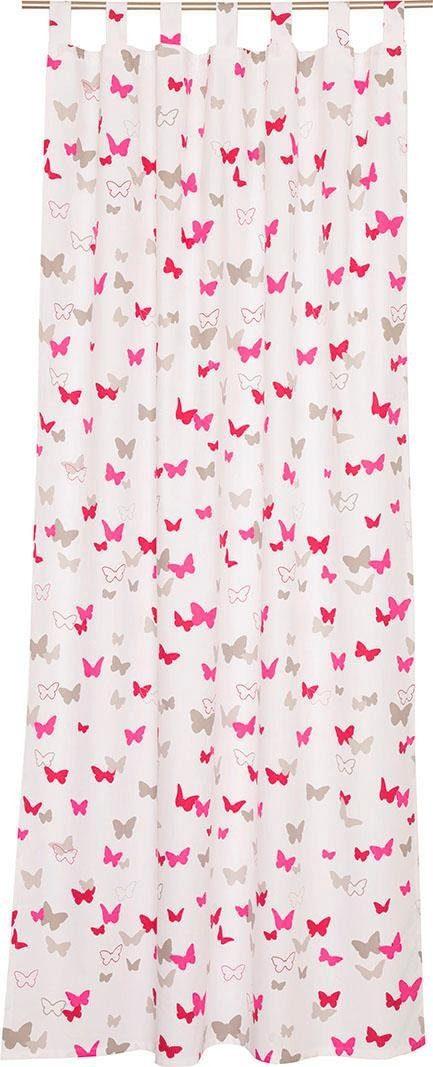 Vorhang »E-Sweetbutterfly«, Esprit, Ösen (1 Stück), bedruckt mit bunten Schmetterlingen