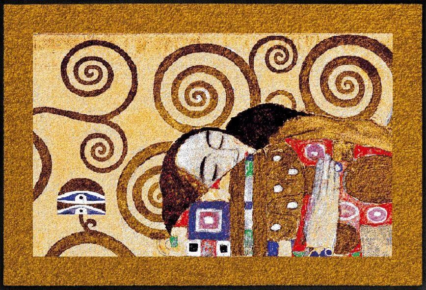 Fußmatte »Erfüllung Klimt«, Salonloewe, rechteckig, Höhe 7 mm