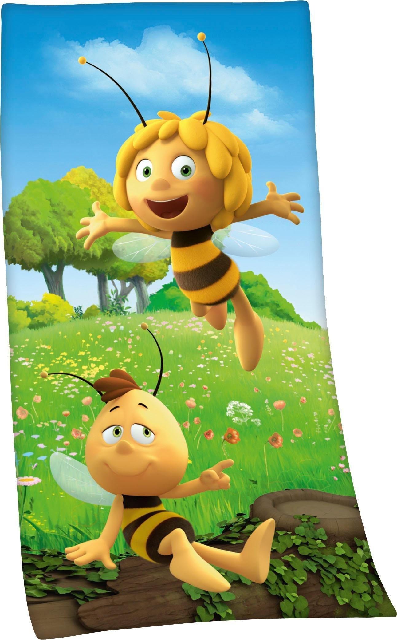 Badetuch »Biene Maja«, Die Biene Maja, mit Biene Maja Motiv | Bad > Handtücher > Badetücher | Die Biene Maja