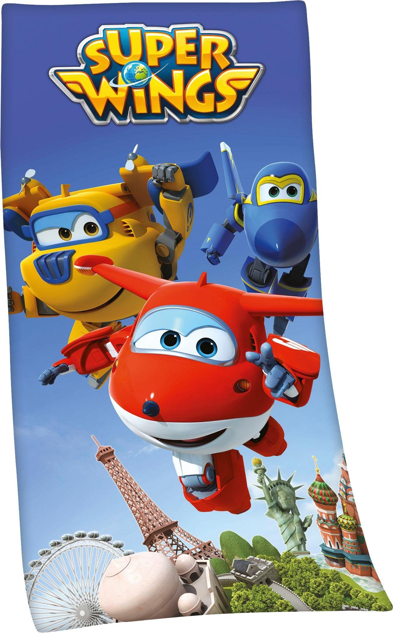 Badetuch »Super Wings«, mit Super Wings Motiv