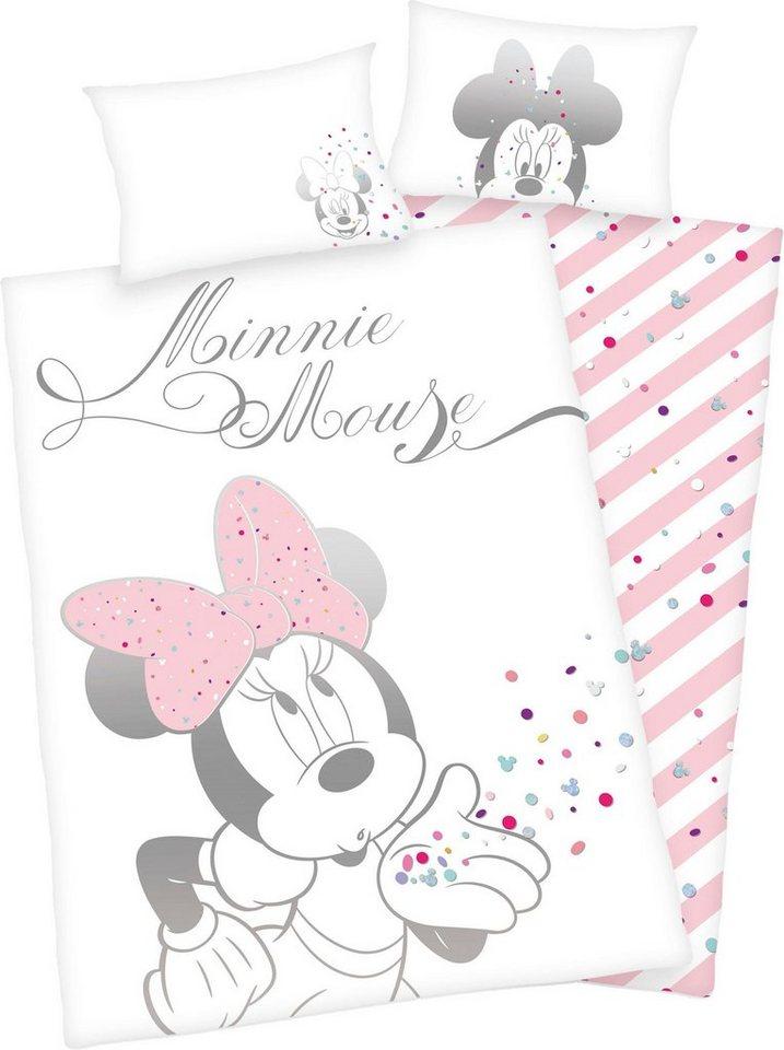 Babybettwäsche »Minnie Mouse«, Walt Disney, mit Minni Mouse online kaufen |  OTTO