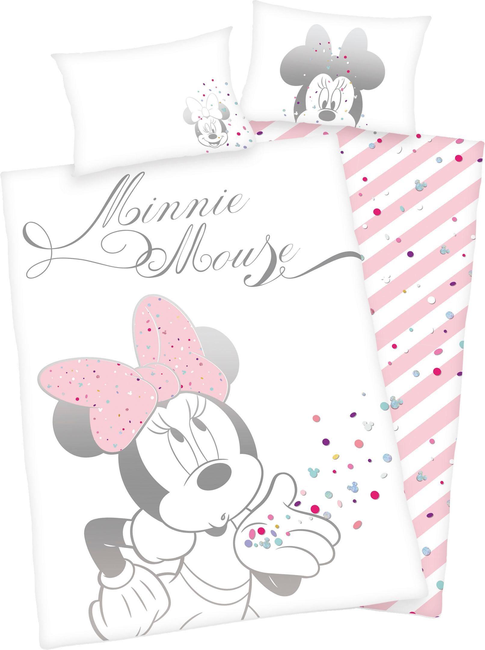 Babybettwäsche »Minnie Mouse«, Walt Disney, mit Minni Mouse