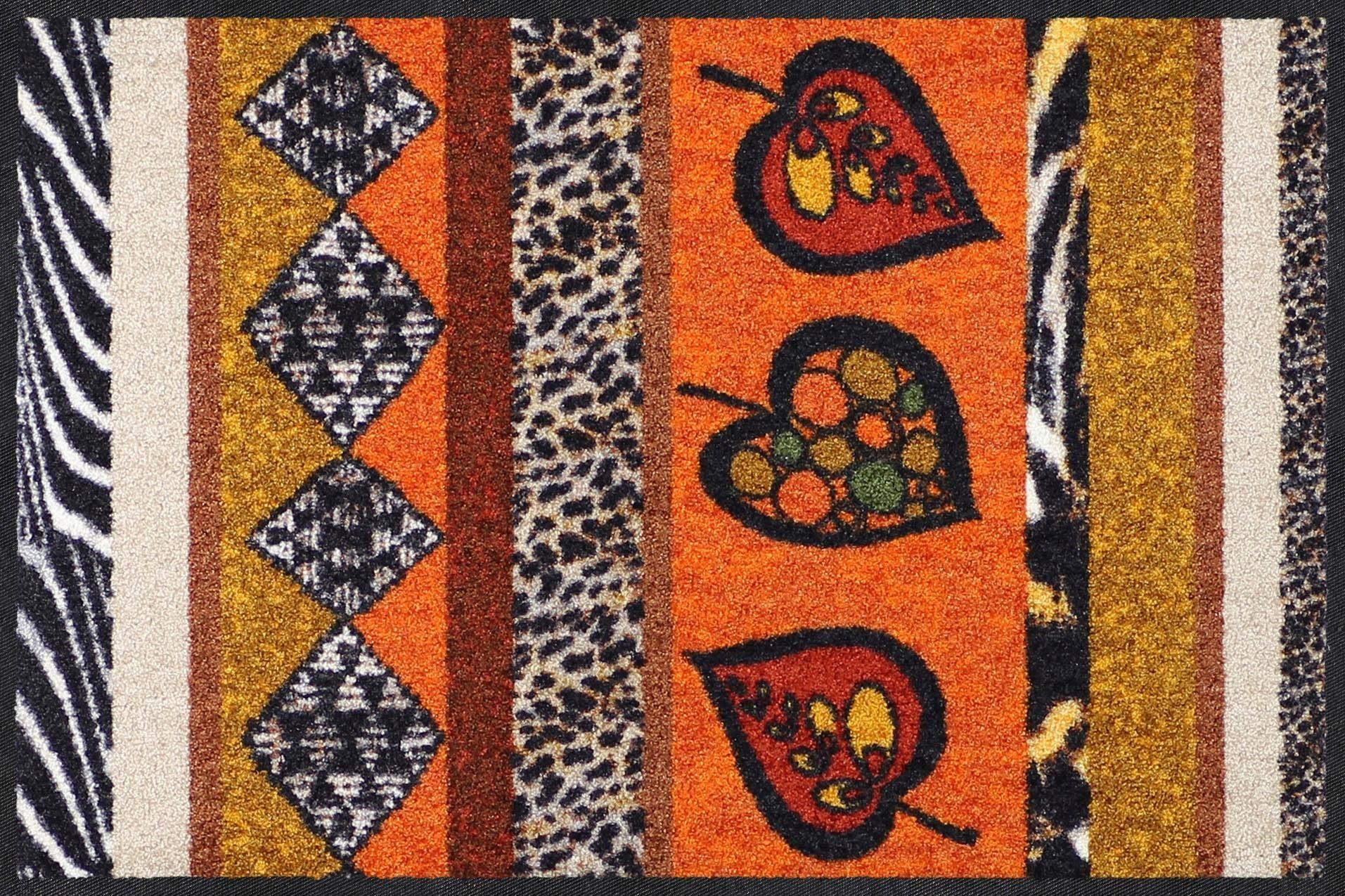 Fußmatte »Ethno Stripes«, Salonloewe, rechteckig, Höhe 7 mm