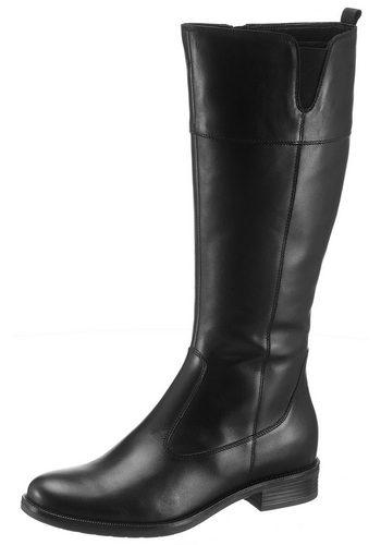 Damen Tamaris Cary Stiefel im schlichten Design schwarz | 04059252806706
