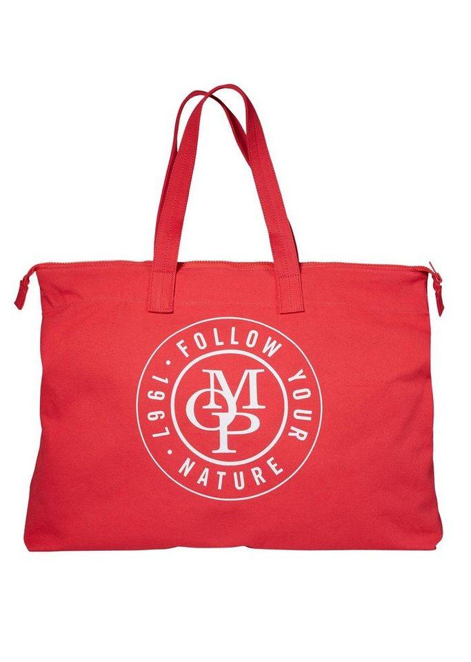 Damen Marc O Polo Strandtasche mit viel Stauraum rot | 04059184026517