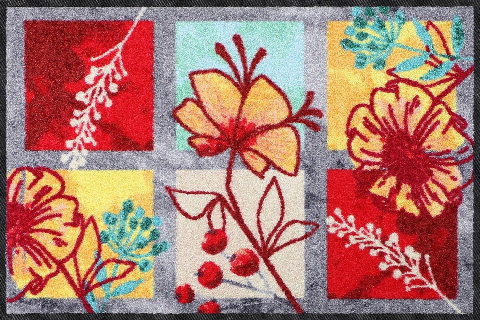 Fußmatte »Spring Delight«, Salonloewe, rechteckig, Höhe 7 mm
