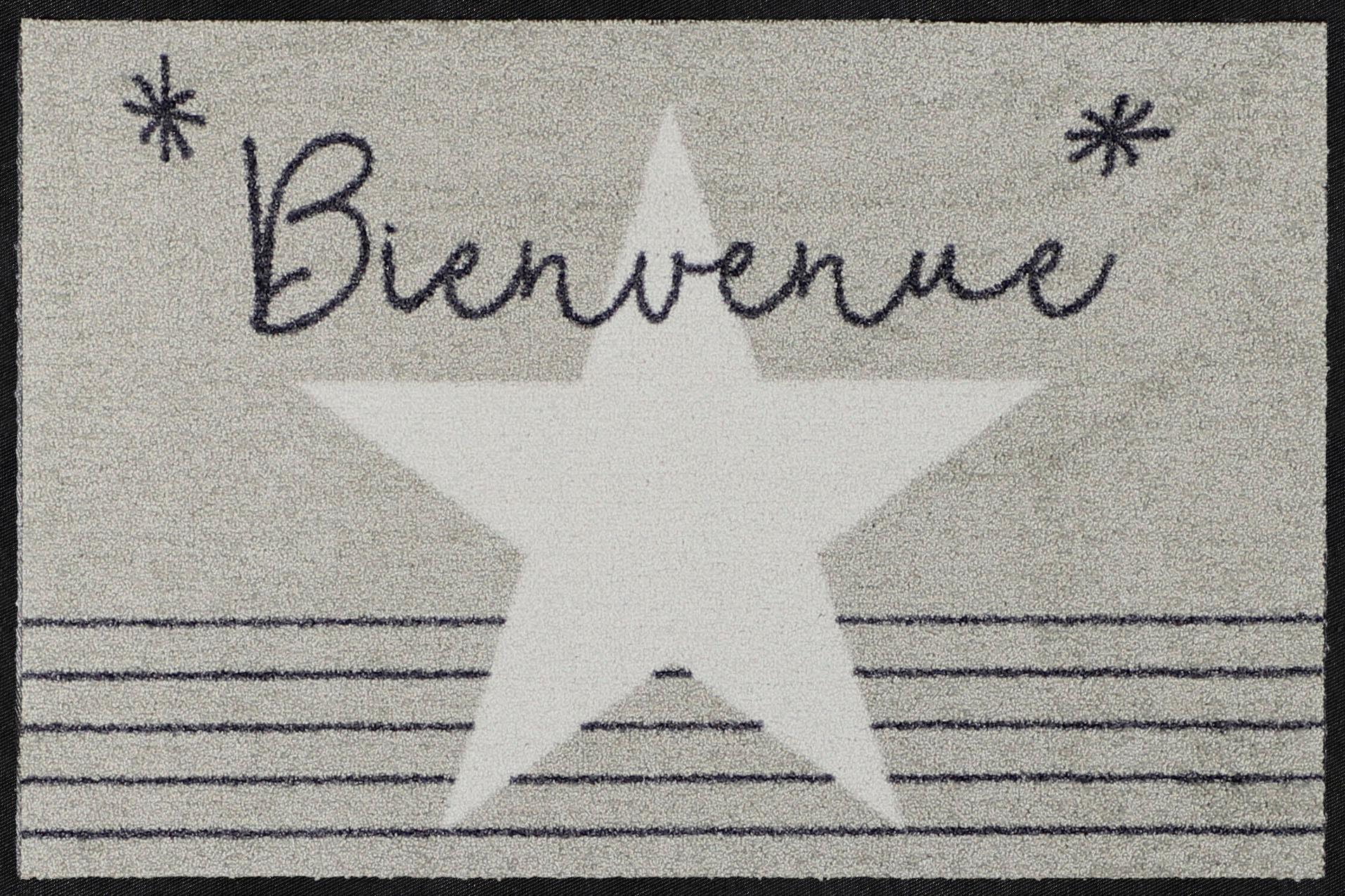 Fußmatte »Invite French«, Salonloewe, rechteckig, Höhe 7 mm