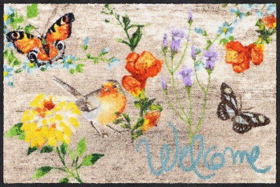 Fußmatte »Robin Wood«, Salonloewe, rechteckig, Höhe 7 mm, In- und Outdoor geeignet