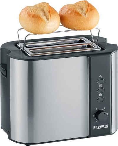 Severin Toaster AT 2589, 2 kurze Schlitze, für 2 Scheiben, 800 W