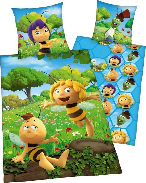 Kinderbettwäsche »Biene Maja«, Die Biene Maja, mit Willi   Kinderzimmer > Textilien für Kinder > Kinderbettwäsche   Baumwolle   Die Biene Maja