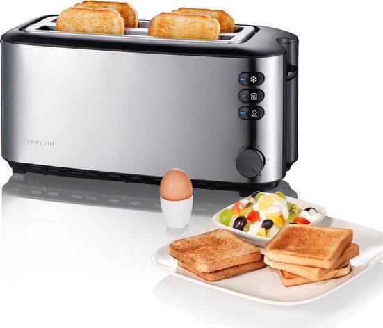 Severin Toaster AT 2509, 2 lange Schlitze, 1400 W