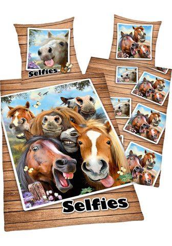 Vaikiška patalynė »Selfies Pferde«