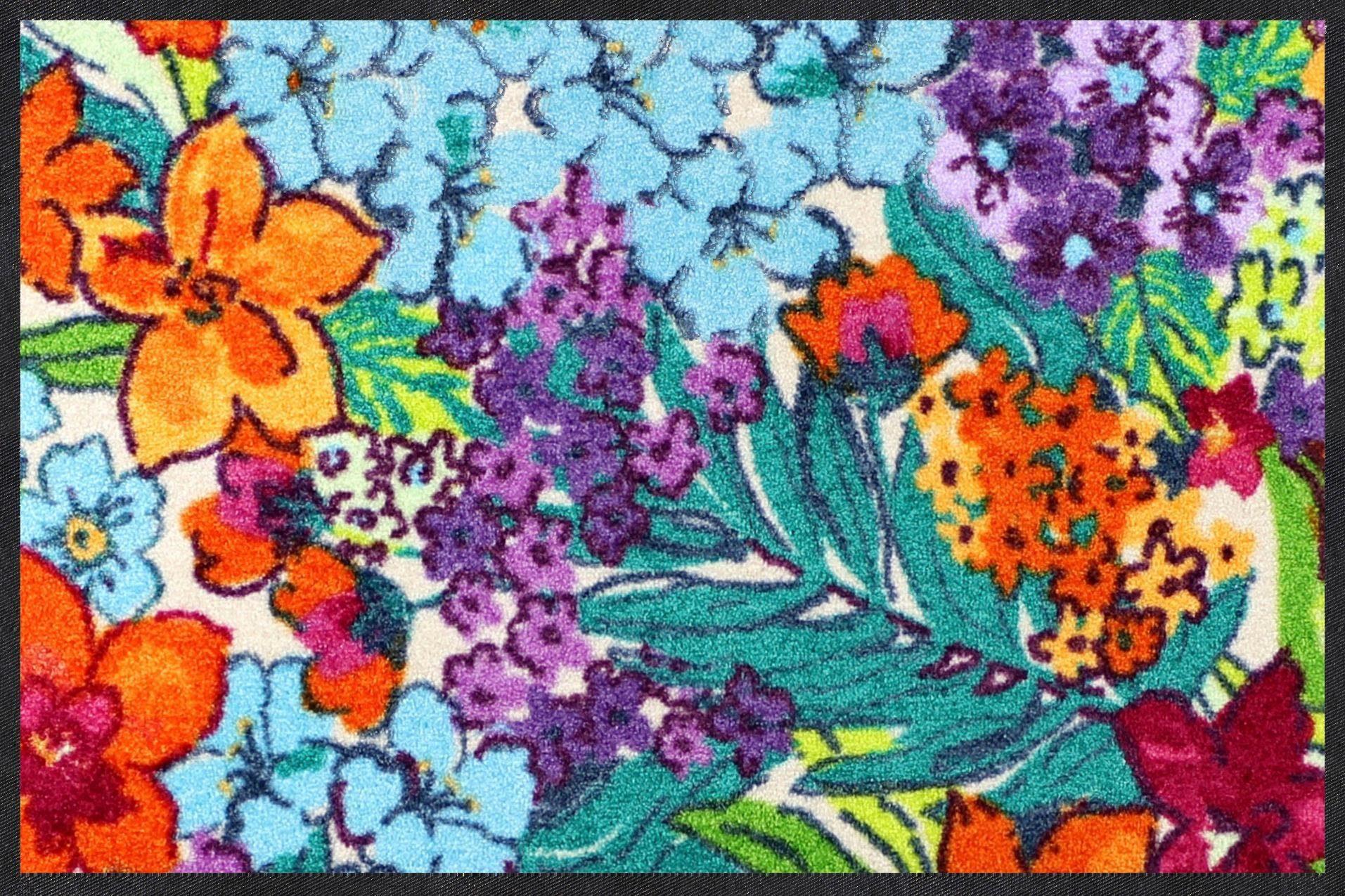 Fußmatte »Paradies Detail«, Salonloewe, rechteckig, Höhe 7 mm