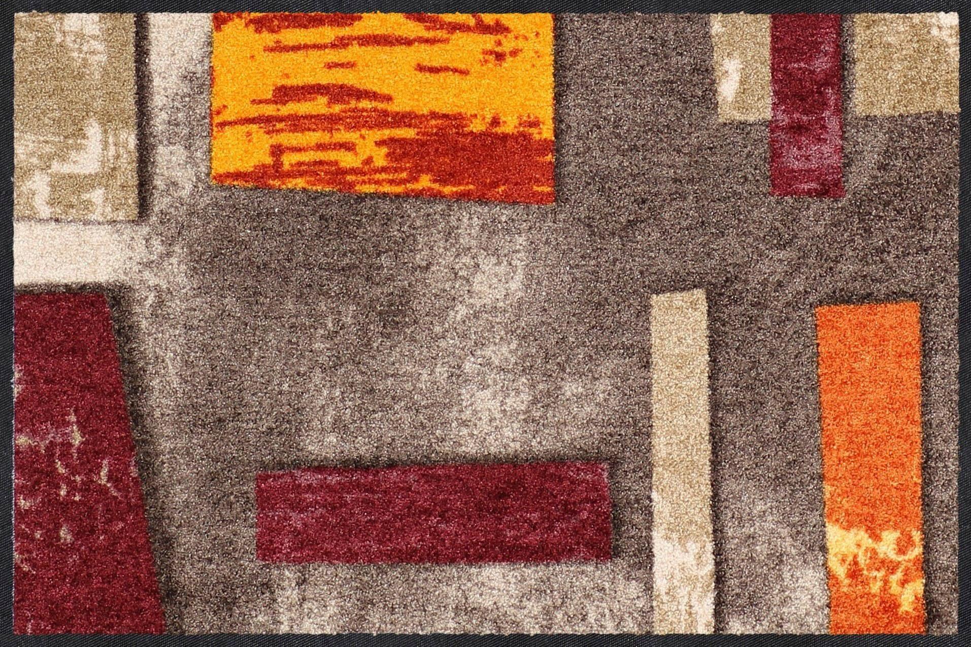 Fußmatte »Abstract Clay«, Salonloewe, rechteckig, Höhe 7 mm