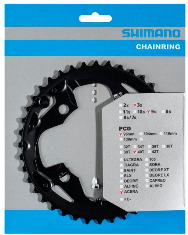 Shimano Kettenblatt »Acera FC-M3000 Kettenblatt 9-fach AX«