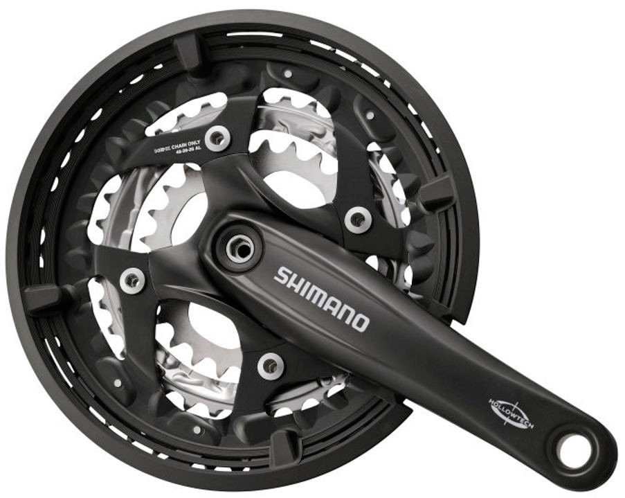 Shimano Kurbel »Trekking FC-T521 Octalink Kurbelgarnitur 3x10-fach«