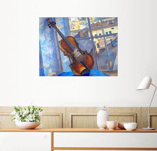 Posterlounge Wandbild - Kuzma Sergeevich Petrov-Vodkin »Violine«