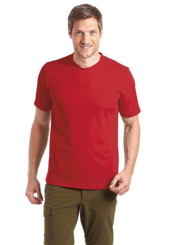 Maier Sports Funktionsshirt »Walter« | Sportbekleidung > Sportshirts > Funktionsshirts | Rot | Maier Sports
