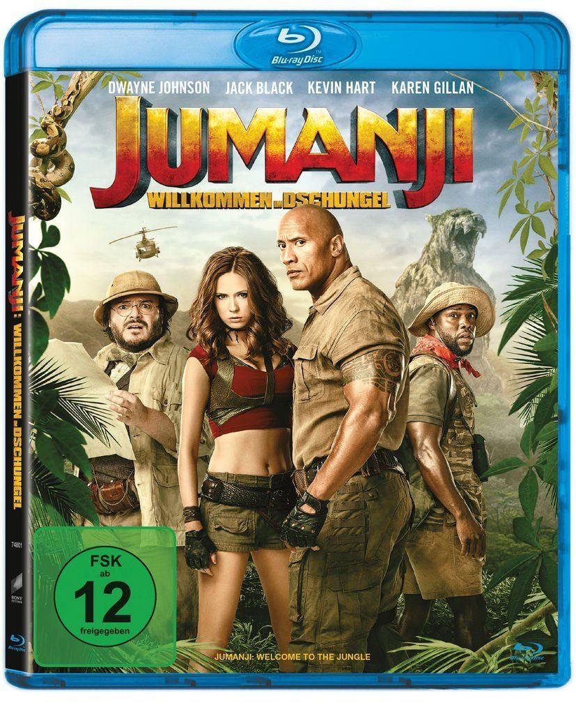 Sony Pictures BLU-RAY Film »Jumanji: Willkommen im Dschungel«