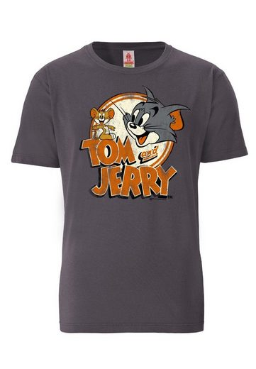 LOGOSHIRT T-Shirt mit Tom und Jerry-Aufdruck »Tom & Jerry«