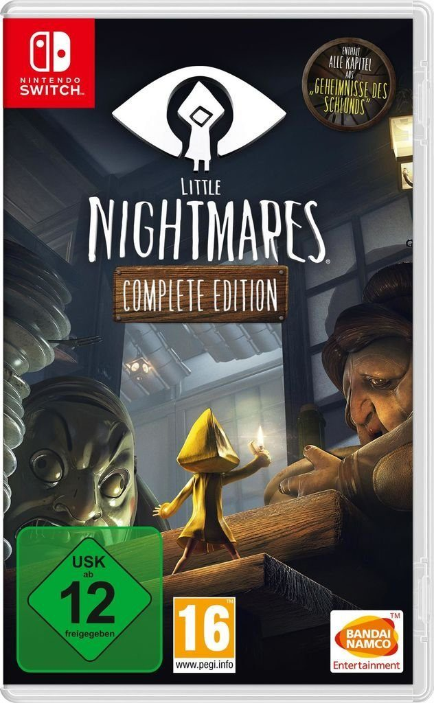 Bandai Nintendo Switch - Spiel »Little Nightmares Complete Edition«