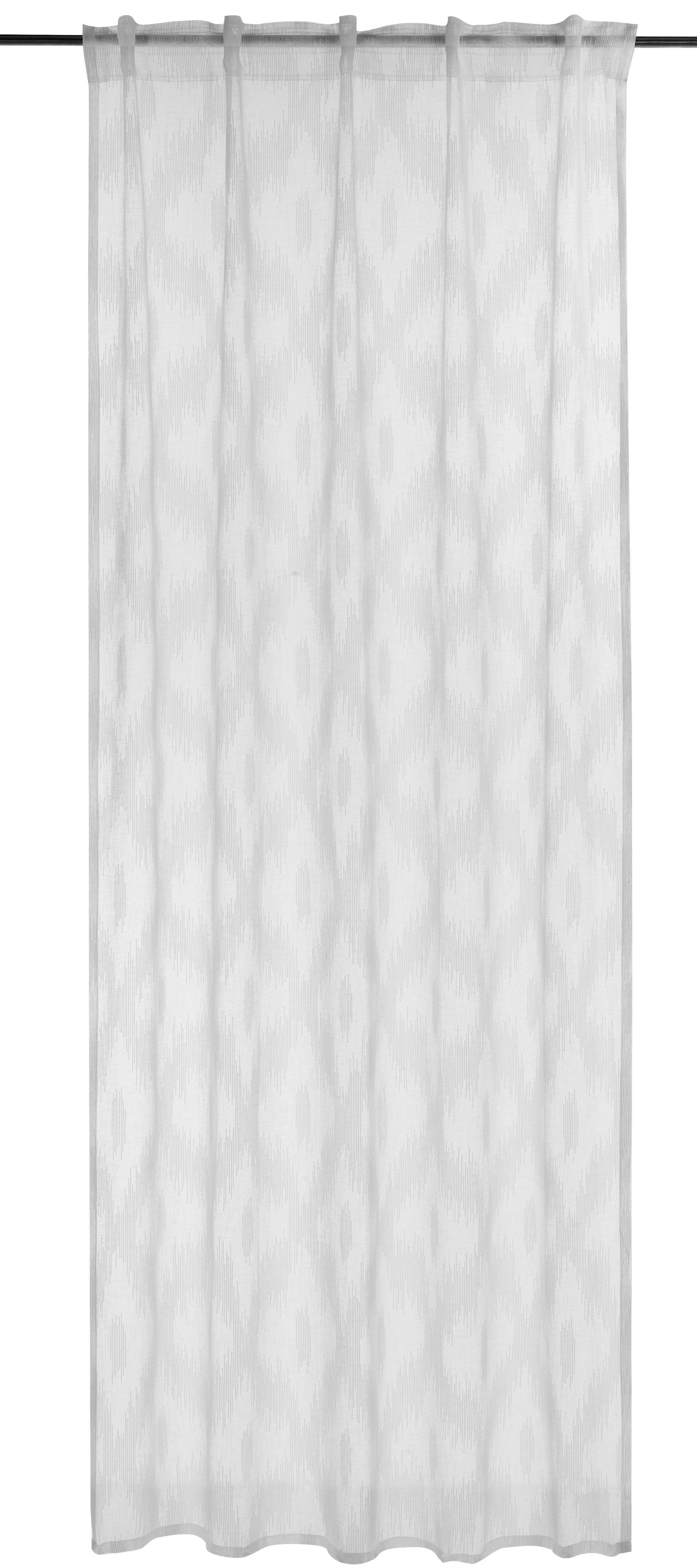 Gardine »FD Rhombus«, BARBARA Home Collection, verdeckte Schlaufen (1 Stück), FD Rhombus