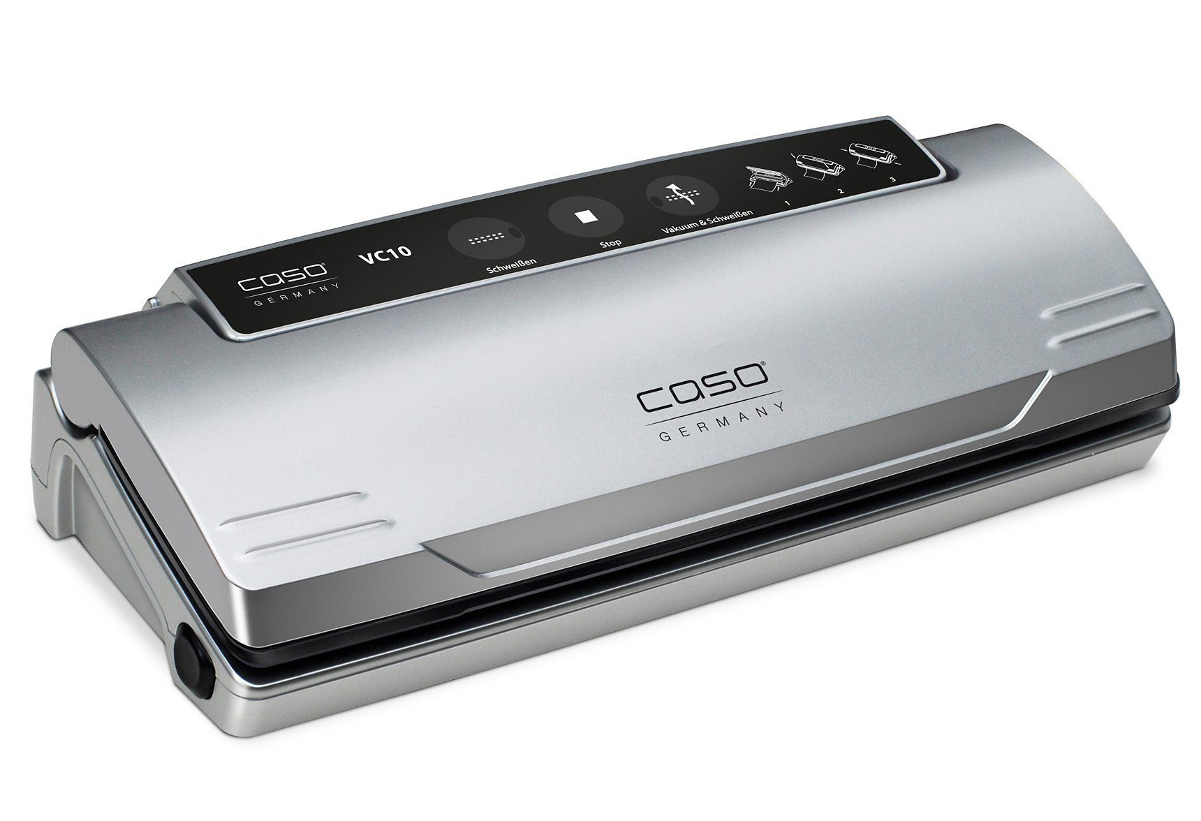 Caso Germany Vakuumierer »VC10«, Inkl. 10 gratis Profi-Beutel, sep. Schweißfunktion