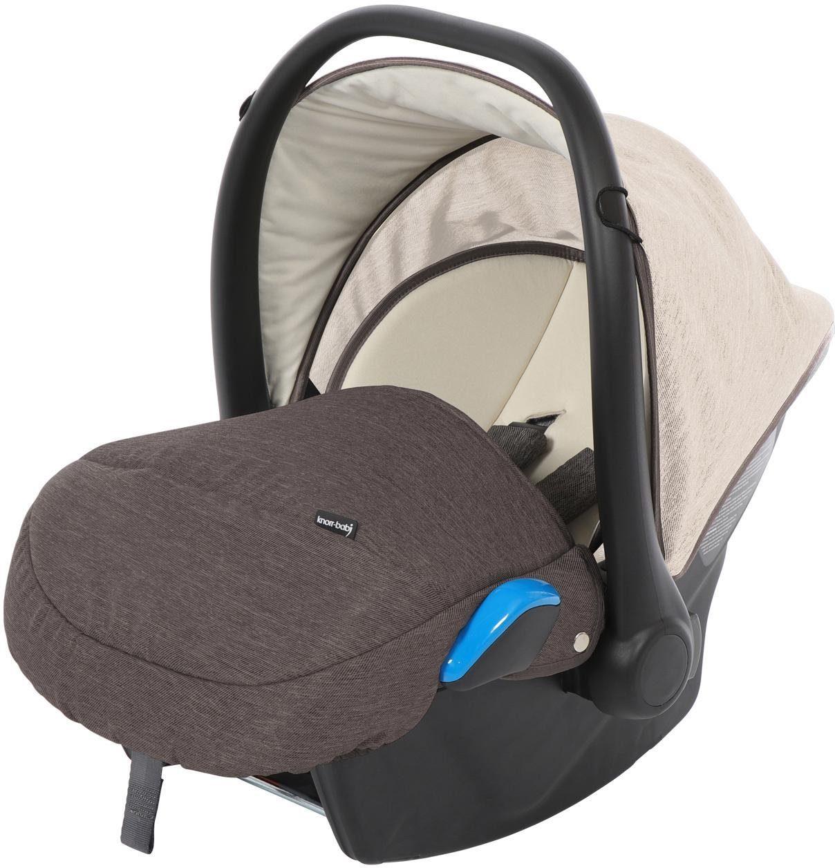 knorr-baby Babyschale, 0 - 13 kg, »Milan für Life+, sand-mokka«