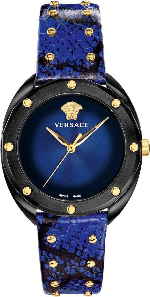 Versace Schweizer Uhr »Shadov, VEBM00418« | Uhren > Schweizer Uhren | Blau | Versace