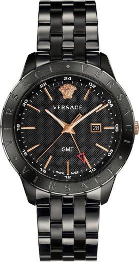 Versace Schweizer Uhr »Univers, VEBK00618«, mit GMT