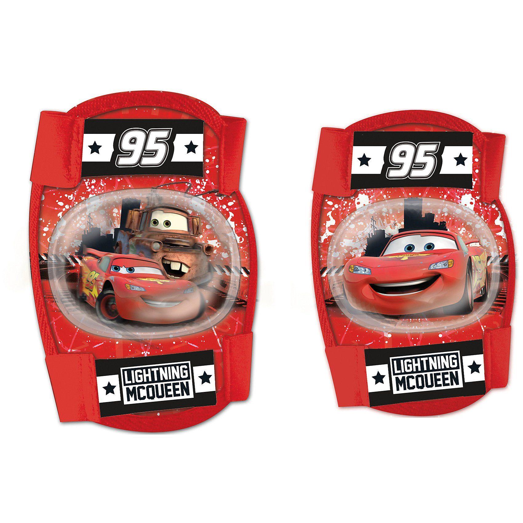 Cars Knie- und Ellenbogenschoner-Set, rot