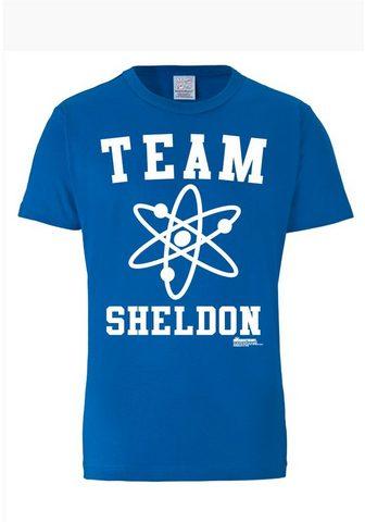 LOGOSHIRT Футболка »Team Sheldon«