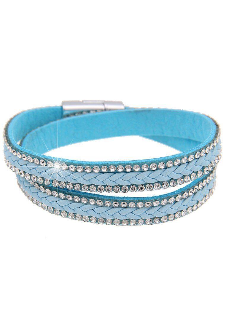 Leslii Wickelarmband mit Magnetverschluss
