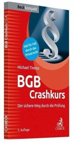Broschiertes Buch »BGB Crashkurs«