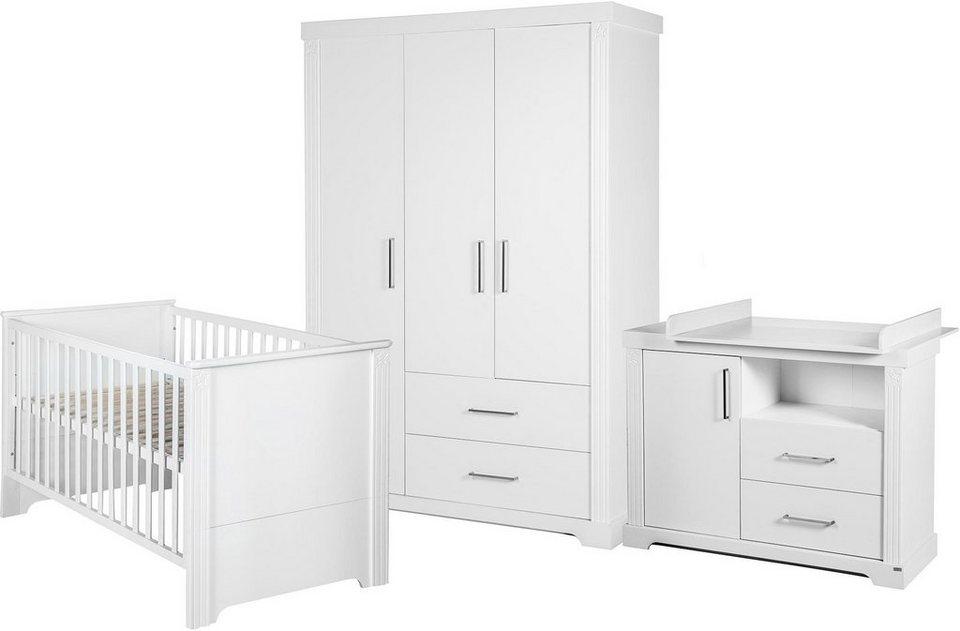 Kinderzimmer Roba | Roba Babyzimmer Set 3 Tlg Kinderzimmer Maxi 3 Turig Online