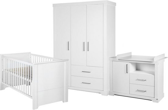 Roba® Babyzimmer-Komplettset »Maxi«, 3-türig