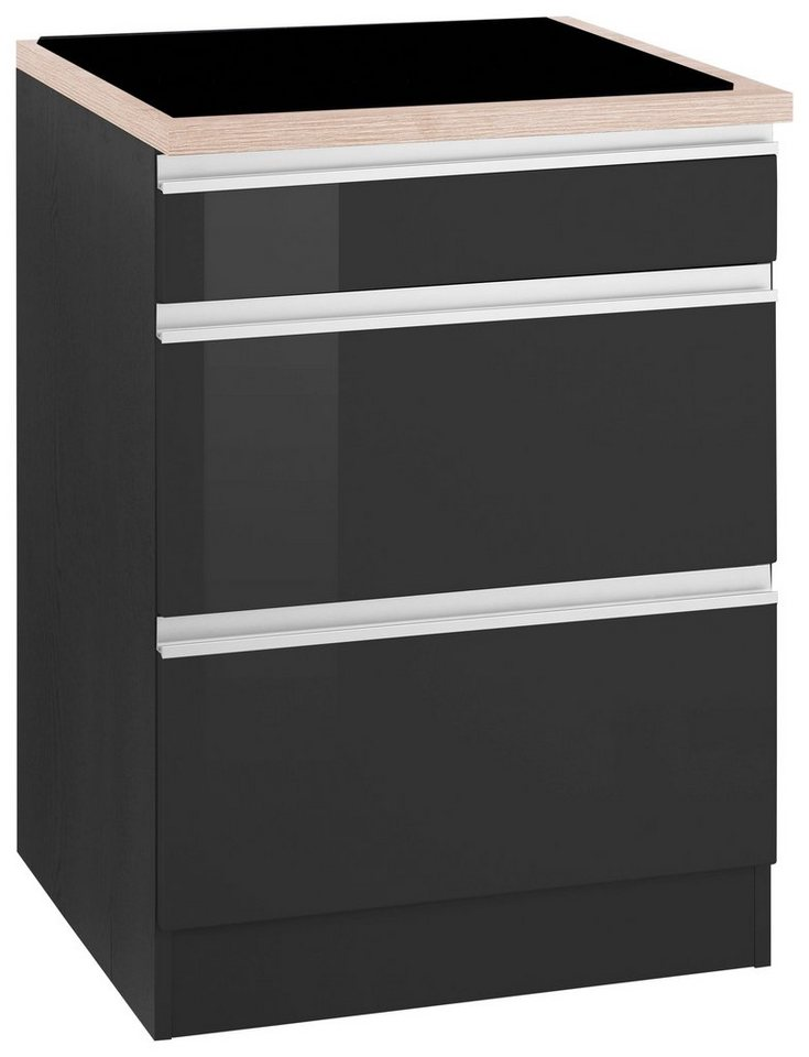 held m bel kochfeldumbauschrank ohio kaufen otto. Black Bedroom Furniture Sets. Home Design Ideas