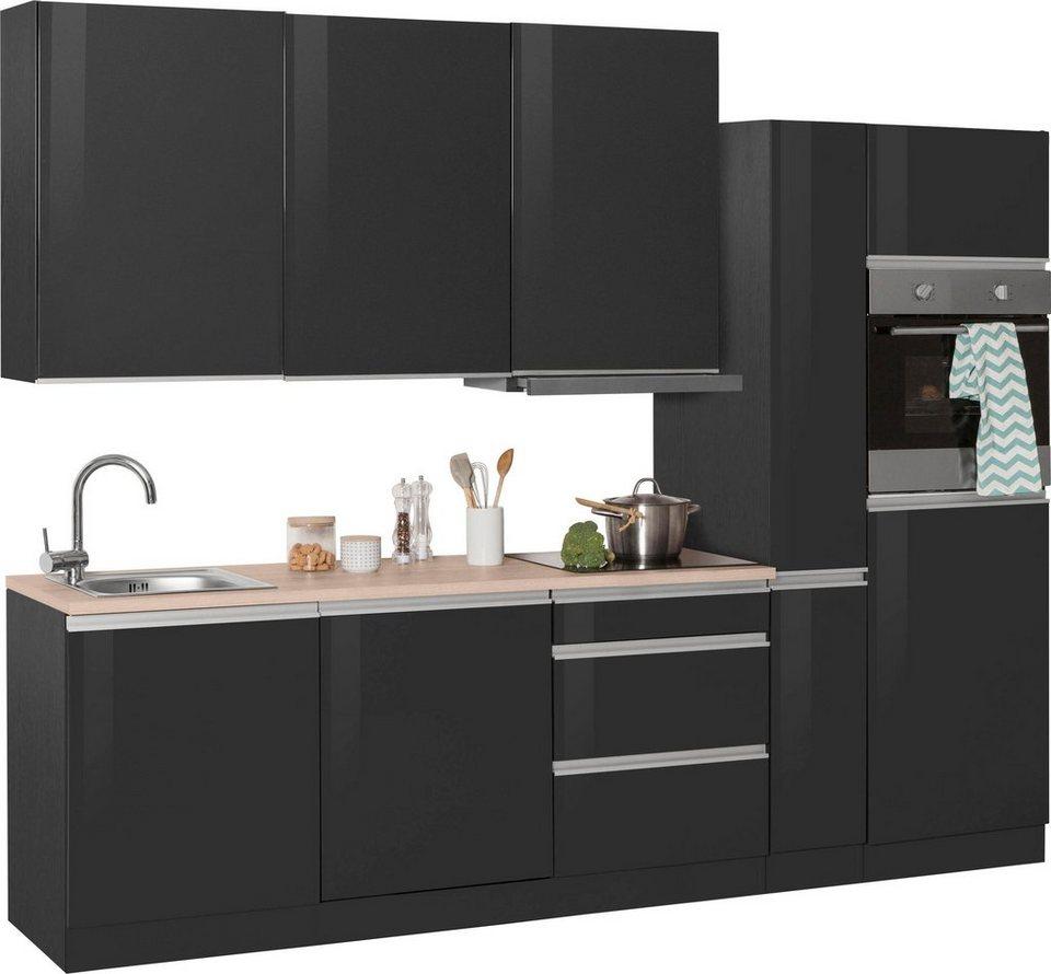 held m bel k chenzeile mit e ger ten ohio breite 270 cm online kaufen otto. Black Bedroom Furniture Sets. Home Design Ideas