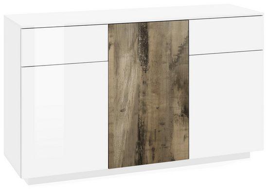 Tecnos Kommode »Cross«, Breite 135 cm