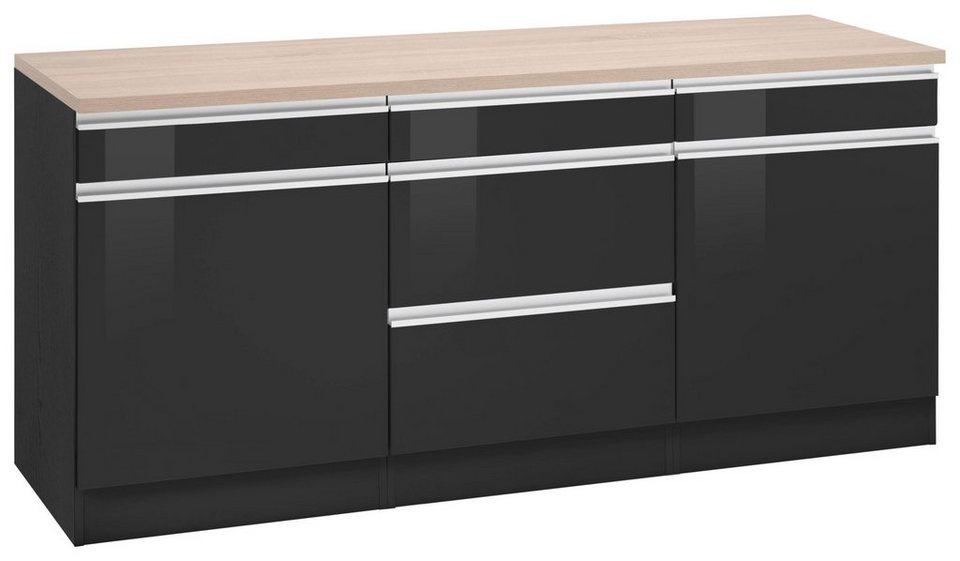 held m bel unterschrank ohio breite 180 cm 2 einlegeb den online kaufen otto. Black Bedroom Furniture Sets. Home Design Ideas