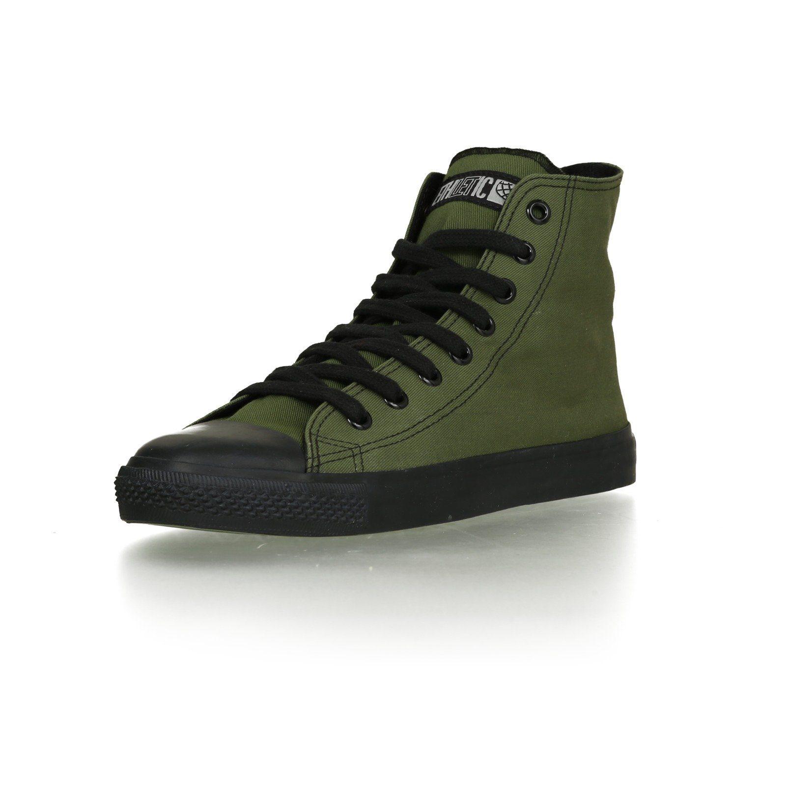 ETHLETIC Sneaker aus nachhaltiger Produktion Black Cap Hi Cut Classic online kaufen  Camping Green | Jet Black