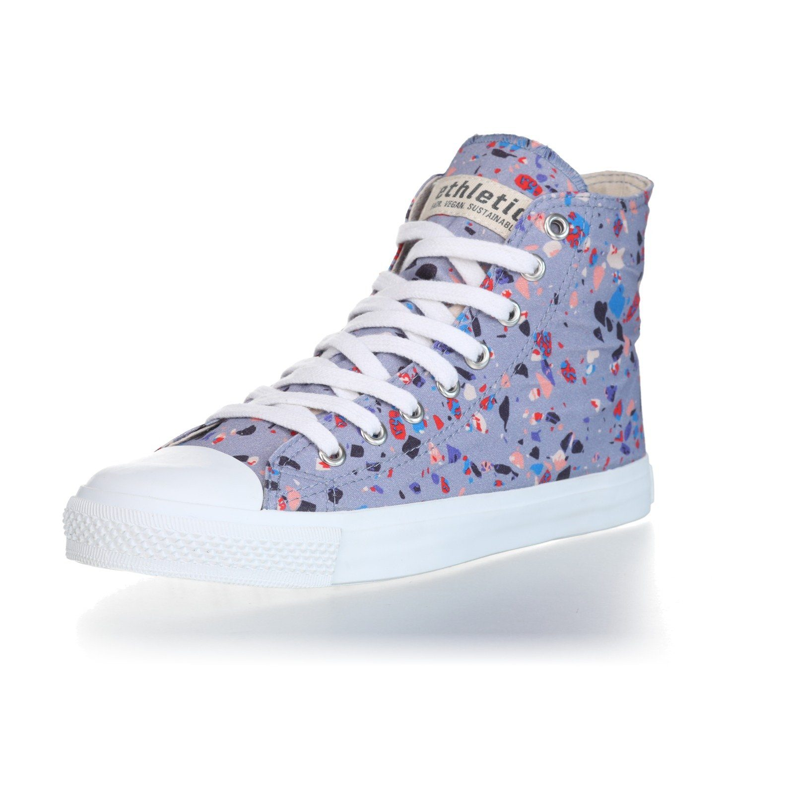 ETHLETIC Turnschuhe aus nachwachsenden Rohstoffen White Cap Hi Cut Collection 18 online kaufen  Terrazzo Blueberry | Just