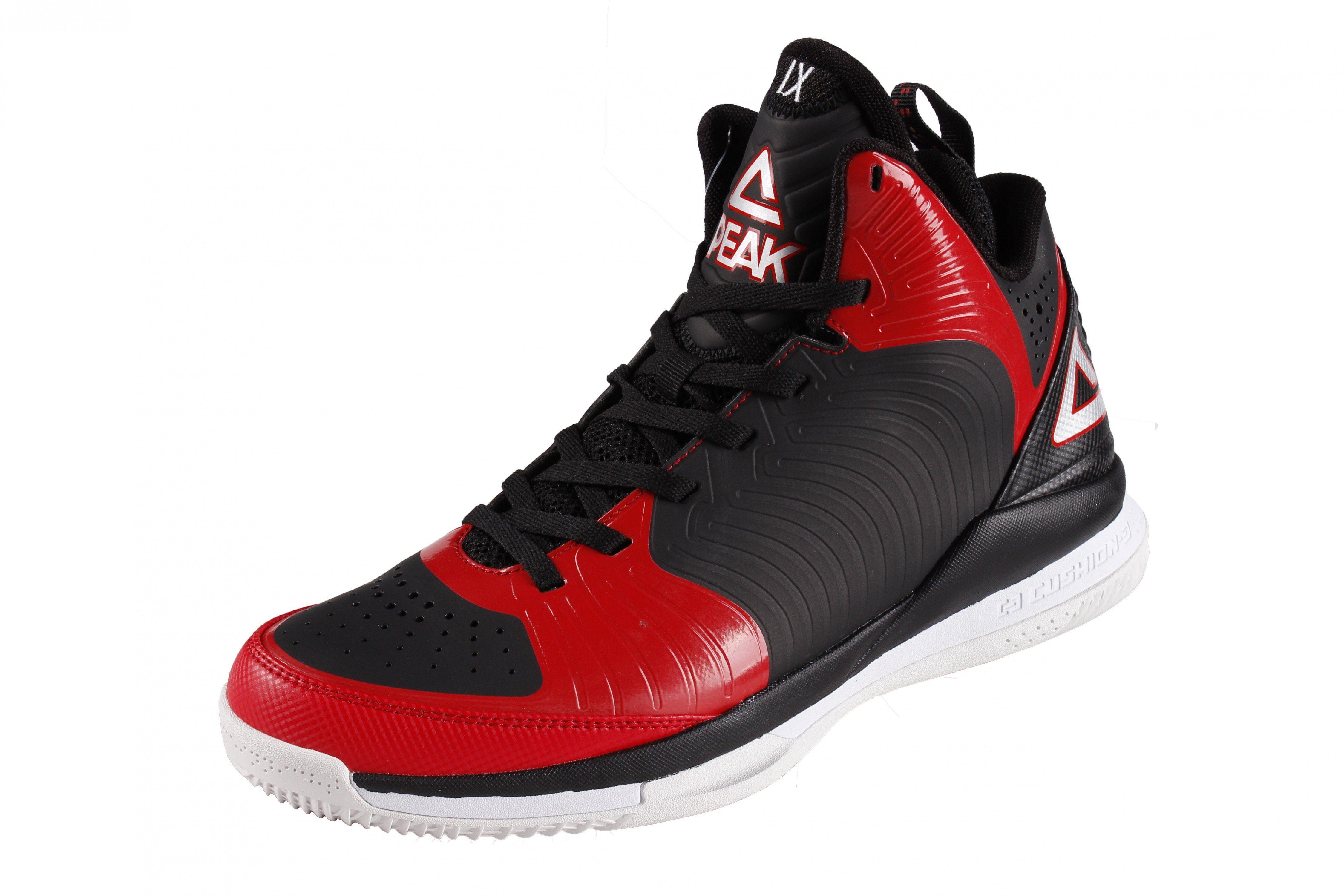 PEAK Basketballschuhe online kaufen  black-red
